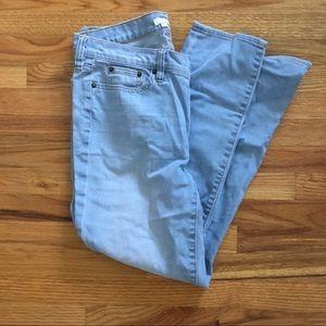 J.Crew Light Wash Straight Leg Jeans